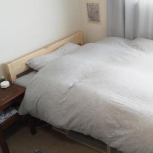 無印良品のパイン材ベッド