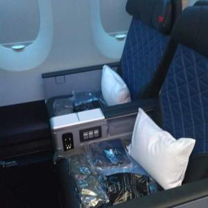 デルタ:北京ーデトロイト DL188便 プレミアムセレクト搭乗記