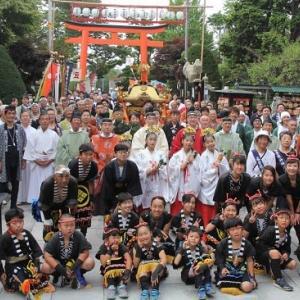 """""""湯倉神社""""例大祭..."""