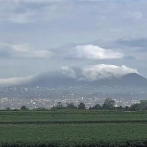 """""""函館山""""を覆う雲..."""