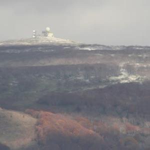 """横津岳で""""初冠雪""""..."""