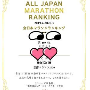 全日本マラソンランキングと真珠婚