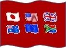 6文銭ならぬ6通貨旗