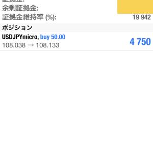 1/6 ドル円ロングホールド中