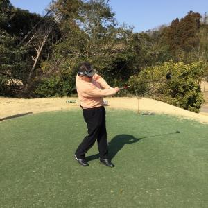 019-200301  初ゴルフと気晴らしフィッシング