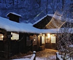 冬の乳頭温泉郷「鶴の湯」宿泊記-3-(温泉編♪)