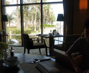UAE旅行記-15- セレブの朝食