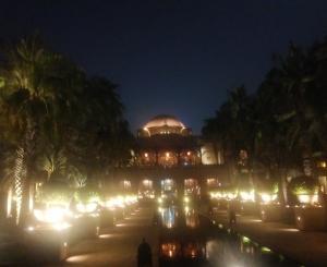 UAE旅行記-21- ドバイのロマンティックな水上レストラン「101 Lounge & Bar」