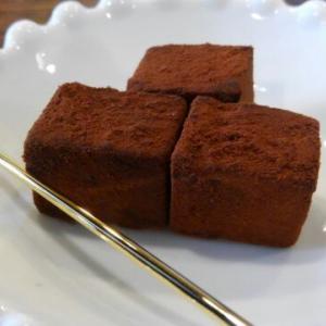 珈琲とよく合う生チョコレート(盛岡・いなだ珈琲舎)