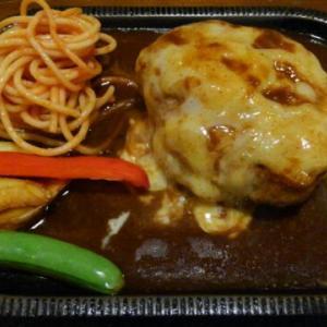 チーズバーグ200グラムで大満足・盛岡、カフェレストラン「瑠奈」にて