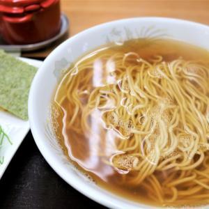 初めて食べた「具なし、かけらーめん」<盛岡市・栁屋製麺所の「みおしうどん」>