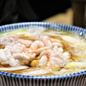 盛岡市で、130年をゆうに超える老舗蕎麦屋「直利庵」で「たちこそば」・美味しかった!