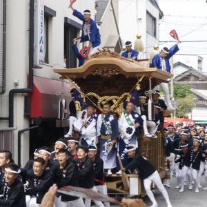 平成30年度 岸和田だんじり祭 第一回試験曳き 其の六