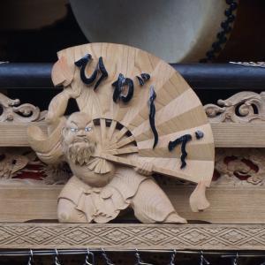 岸和田10月祭礼 宵宮 岡山町三小路パレード