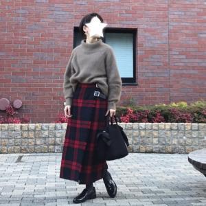 もう穿き納め!なお気に入りスカート。と即決したジャケット!
