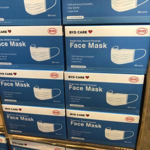 costcoでマスクを発見!