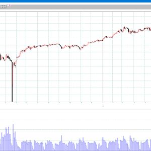 原油の上昇は止まらず 83ドル超えへ 日週月足チャート