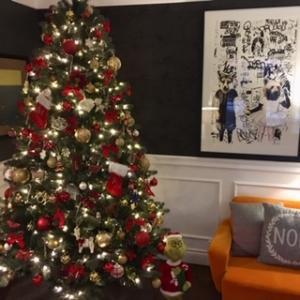 2019年、ナナ&ジャズと準備するクリスマス・デコレーション