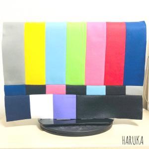 カラーバーテレビカバーの作図とパターン