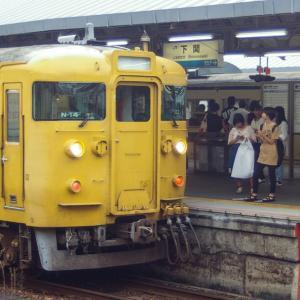 115系・下関駅 2019 ー②