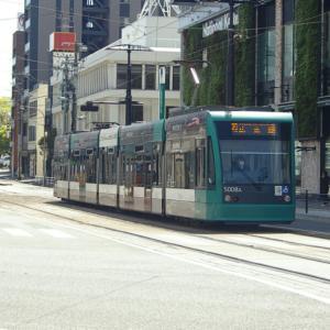 広島駅周辺の広電電車 2020-4 -③