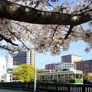 広島駅周辺の広電電車 2020-4 -⑤