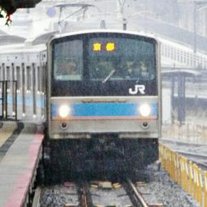 205系・213系・227系 / 京都駅 岡山駅 小新開踏切にて