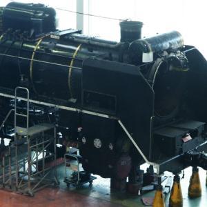 D51-200号機 / 解体整備中