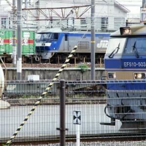 EF510-503号機 / 京都鉄道博物館からウォッチ