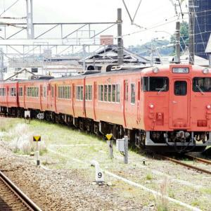 キハ40系を新駅舎工事中の西広島駅にて -②