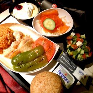 トルコ旅行の事〜ターキッシュエアラインの機内食〜