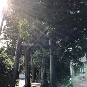 秋田県『唐松神社』へ子授け・安産祈願①