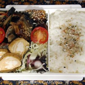 蕨煮物のお弁当