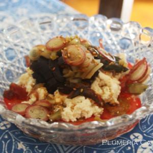 ピータン豆腐のランチ