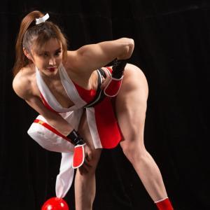 中国版春麗の筋肉が素晴らしい件「筋トレ女子」顔も可愛いのがあざとい