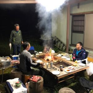 有田でファイヤー会