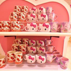 【USJ】可愛い♡ハローキティのマグカップ