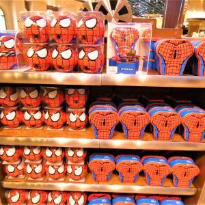 【USJ】カッコイイ☆スパイダーマン缶入りお菓子