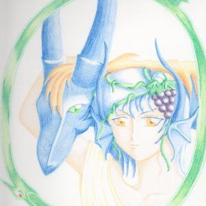 青いドラゴンって、かっこいいよね。(唐突)