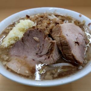 ラーメン荘  おもしろい方へ 池田店