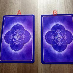 オラクルカードを選んで下さい