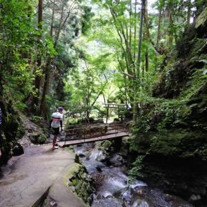 20190804 秘境探検隊:滝ライド・文蔵の滝③