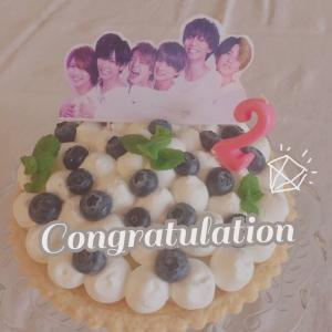 Cake for 2nd Anniversary