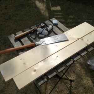 休日プロジェクト:鳥小屋作り