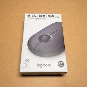 ロジクールワイヤレスマウスPebble M350レビュー|軽量・小型・静音マウスはやっぱり心地よい