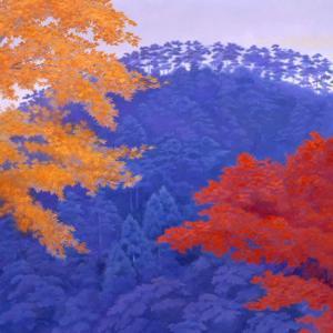 美術館の紅葉