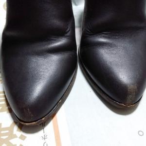 靴のお手入れ スムースレザー ブラウン編