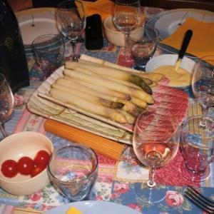 旬の野菜は、お手製マヨで!