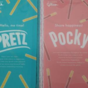 HAPPY DAYS✨一日目✨セブンイレブン × glico ポッキー 限定デザイン マルチケース 全2種 揃えてみたw