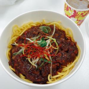 セブンイレブン大豆ミートのジャージャー麺